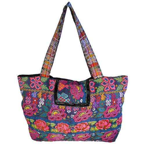 Guatemala Chichi Shoulder Bag Measures 20 Wide X 12 High With An Drop