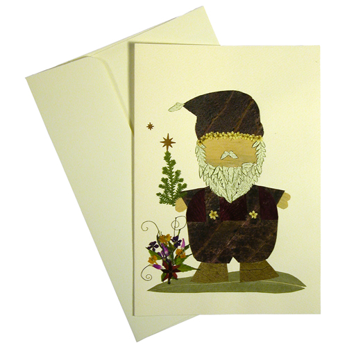 Christmas cards made with dried flowers from el salvador handmade santa handmade floral christmas card made by woman artisans in el salvador measures 6 78 in tall x 4 34 in wide thecheapjerseys Images