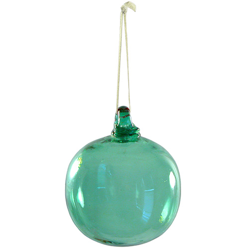 green ornaments