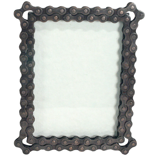 Recycled Bicycle Chain Photo Frame from India | Fair Trade ...
