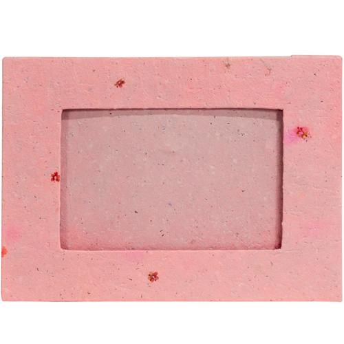 Handmade Paper Frame with Pink Flowers from Peru | "|500|500|?|2d93d6b3405ff80b009ba2b462de805a|False|UNLIKELY|0.320359468460083