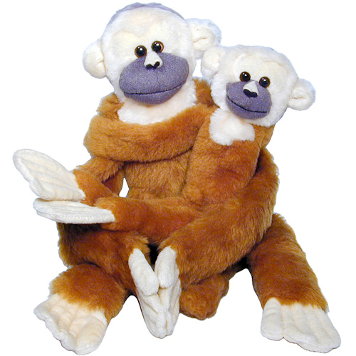 Plush Squirrel Monkeys From Colombia Fair Trade Handmade