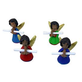 Ceramic Angel Messangers handmade in Guatemala