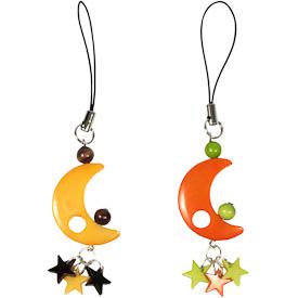 Tagua Moon Ornaments Handmade in Ecuador