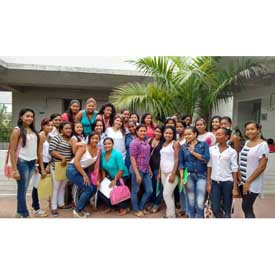 A Happy Day of Class's at JuanFa Colombia