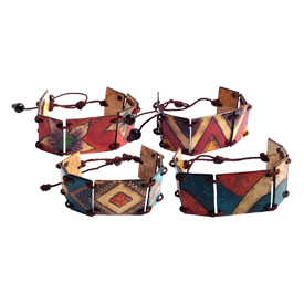 Adjustable Calabash Bracelets<br/ width=275 >Handmade in Columbia