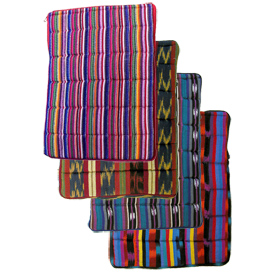 """Weave Laptop Sleeve  Crafted by Artisans in Guatemala   Measures about 15"""" high x 11-1/2"""" wide x 1-1/2"""" deep"""