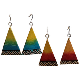 Gourd-Triangle-Earrings-Tribal-Designs-from-Colombia-Fair-Trade-Handmade-Earrings-Sapia-One-World-Projects