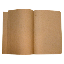 Journal Refill made of Recycled Paper Measures - 8 7/8'' long x 6'' wide x 7/8'' approximately 80 pages