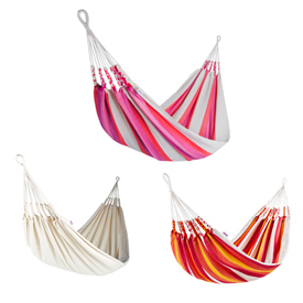 Single-Sized Hammocks Woven of 80% Cotton   Fair Trade and imported from Ecuador