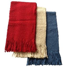 Knit Cotton Scarves Scarves Measure - 69 long x 8 3/4 wide