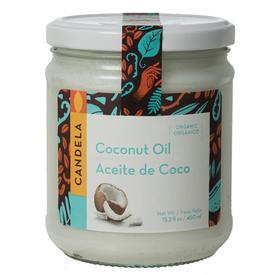USDA Certified Organic Coconut Oil:  15.2 fl oz. / 450 ml bottles Certified Fair Trade in Peru