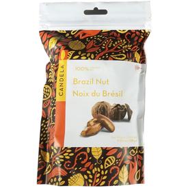 Organic Brazil Nuts Produced in Peru - 8 oz. bag USDA Certified Organic and Fair Trade