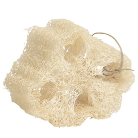 "Mayan Loofa Sponge crafted by Artisans in Guatemala  Measures 2"" high x 3"" wide x 3-1/4"" deep"