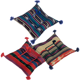 """Large Square Cinnamon and Clove Trivets  Crafted by Artisans in Guatemala  Measures about 1-1/2"""" high x 7-1/2"""" wide x 7-1/2"""" deep"""