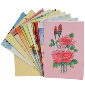Assorted Gift Cards - Package of 10   Measures 6-3/4 x 4-3/4