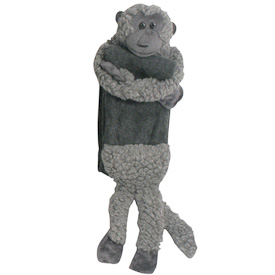 "Wooly Monkey Scarf  Crafted by Artisans in Colombia  Measures 38"" long x 4"" wide"