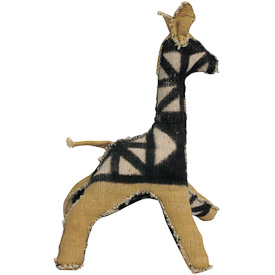 Mud Cloth Giraffe  Crafted by Artisans in Mali  Available in Small, Medium and Large
